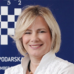 Mirjana Čagalj, v.d. predsjednice Županijske gospodarske komore