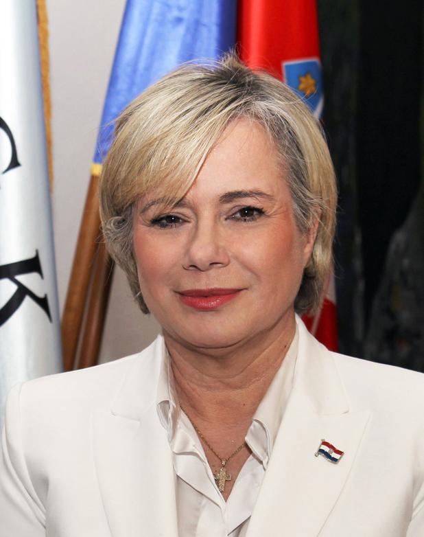 Mirjana Čagalj, potpredsjednica za graditeljstvo, promet i veze Hrvatske gospodarske komore